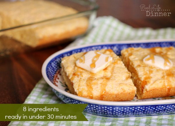 Corn Bread {In 30 Minutes or Less}
