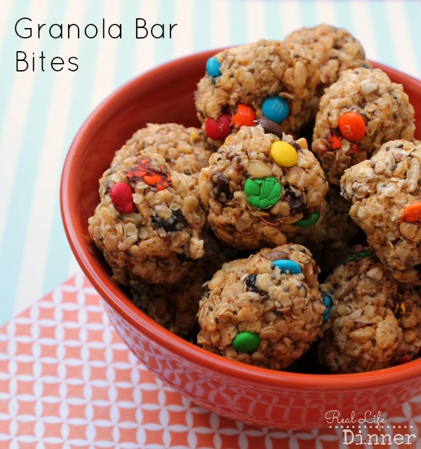 Granola Bar Bites 1