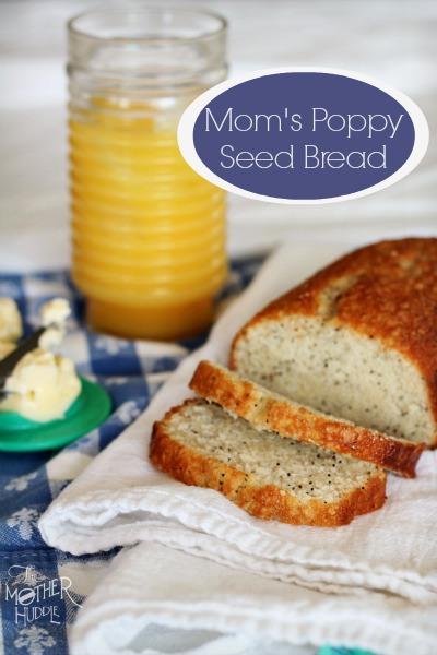 Mom's Poppy Seed Bread
