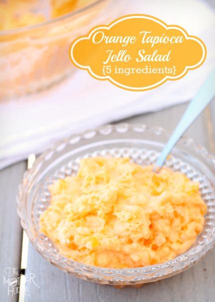 Orange Tapioca Jello Salad
