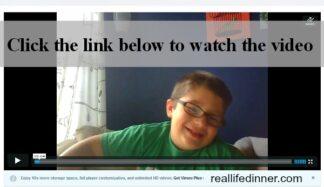 Apraxia Video {Talking about Kindergarten | Age 5}
