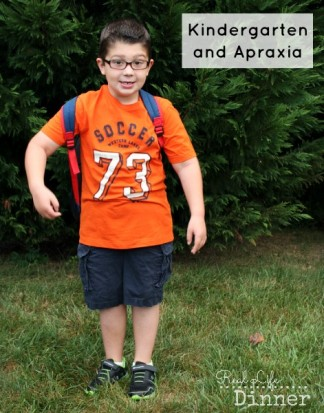 Kindergarten and Apraxia