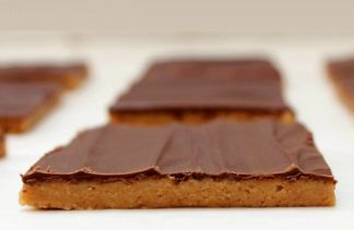 Peanut Butter Cup Bars {No Bake}