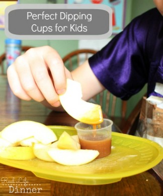 Perfect Little Dipping Cups for Kids {Quick Tip}