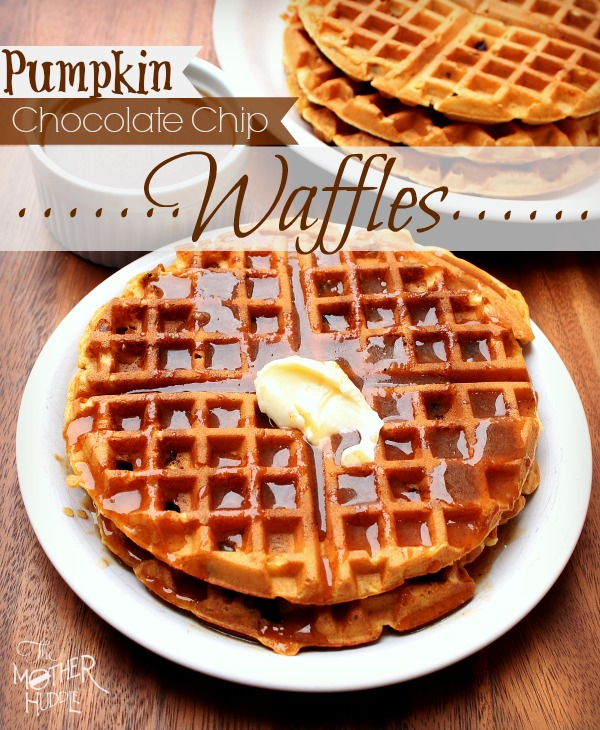 Spiced Brown Sugar Waffles Recipe — Dishmaps