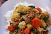 Stove Top Chicken and Vegetable Curry