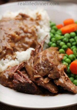Workman's Roast {Crock Pot Recipe}