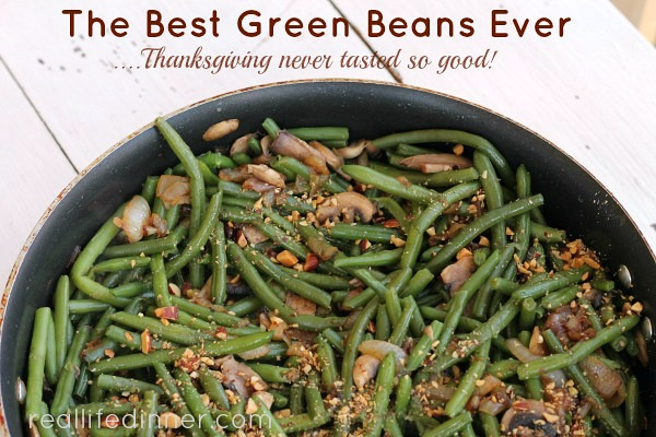 Best Green Beans Ever, Gluten Free