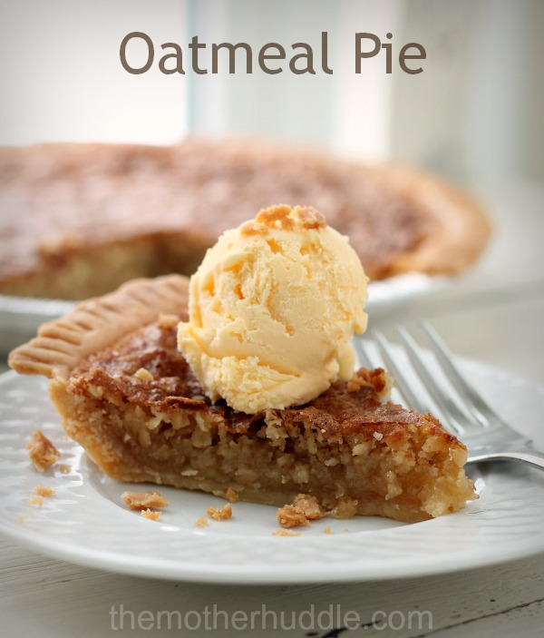 Fake Pecan Pie...aka Oatmeal Pie