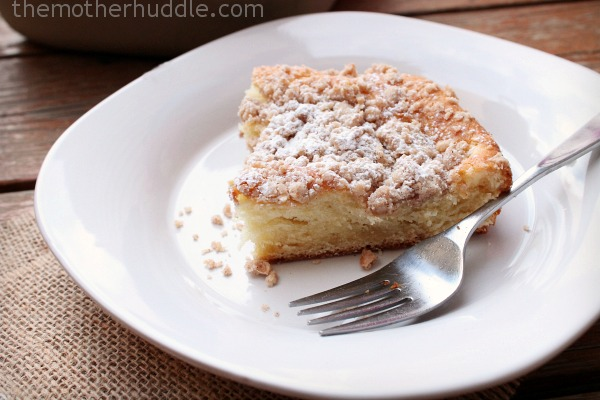 The Best Ever Crumb Cake