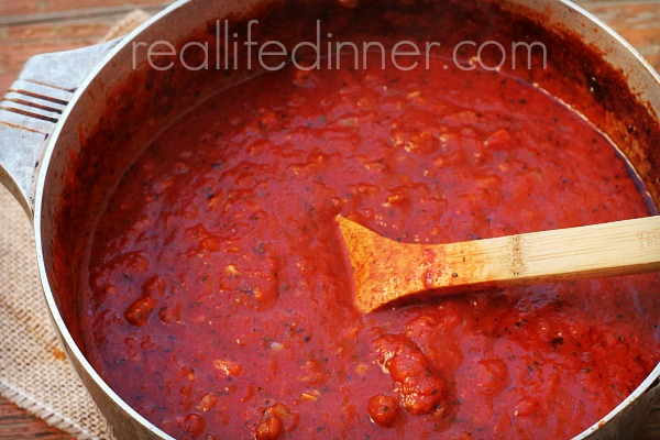 How to make a good italian tomato pasta sauce from scratch