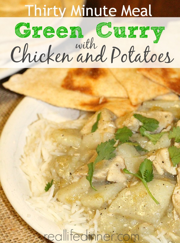 Green Curry with Chicken and Potatoes 1