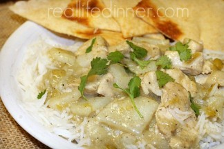 Green Curry with Chicken and Potatoes