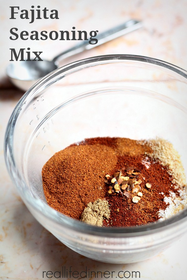 how to make fajita seasoning mix