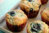 No Fail Blueberry Muffins