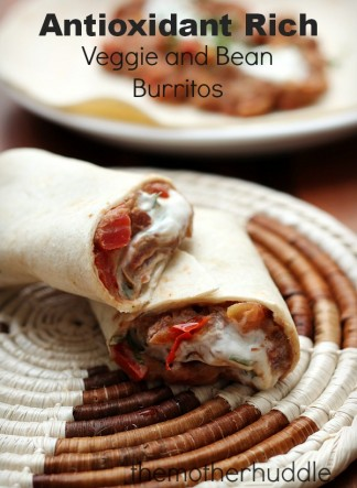 Antioxidant Rich Burritos