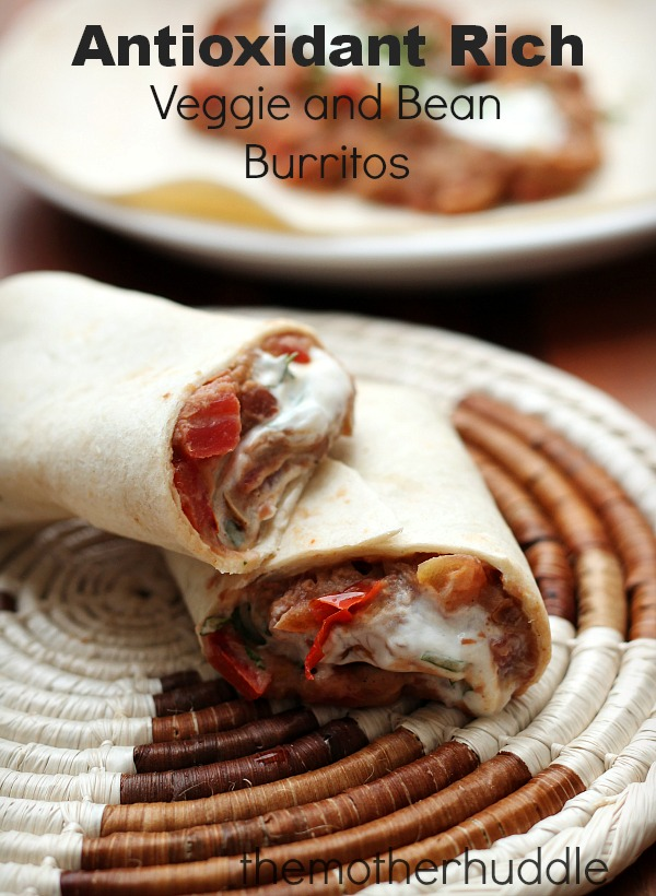 Antioxidant Rich Burritos