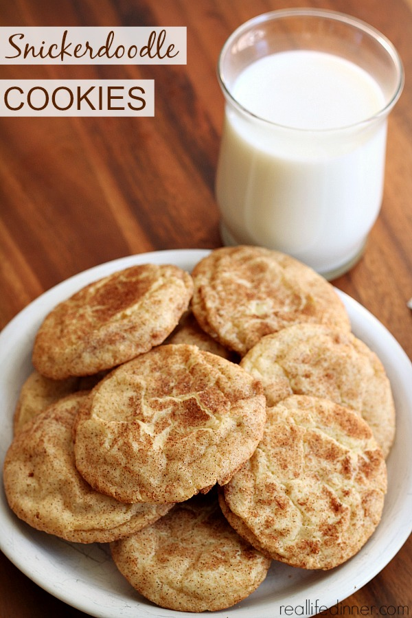 Snickerdoodle Cookies Goldilock Style....not to flat not to puffy