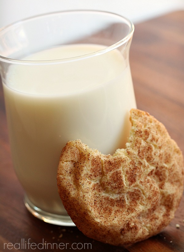 Snickerdoodle Cookies.....Goldilocks Style, not to flat, not to puffy