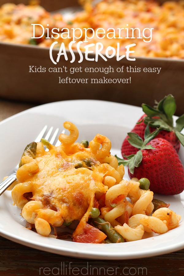 Disappearing Casserole, Kids can't get enough of this easy leftover makeover!