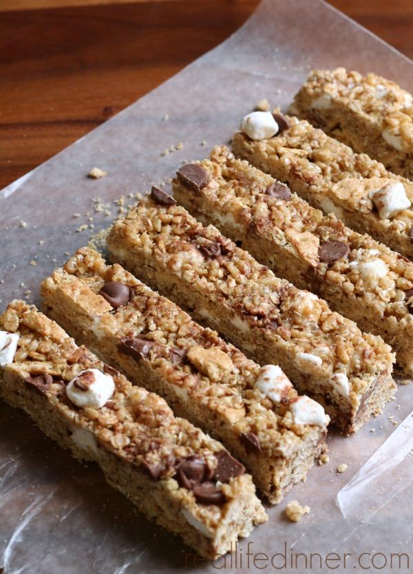 Homemade S'more Granola Bars....AMAZING!!!