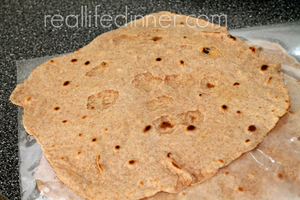 Whole Wheat Tortilla 22