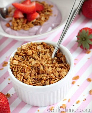 Crunchy Power Granola…The BEST Granola EVER!