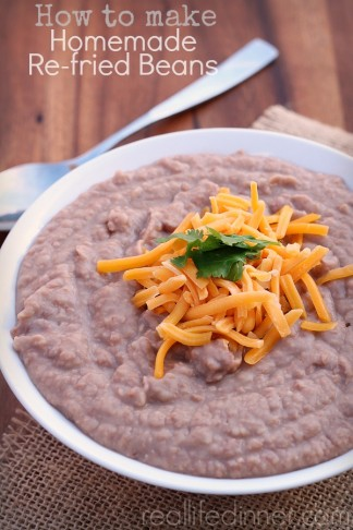 How to Make Homemade Re-fried Beans
