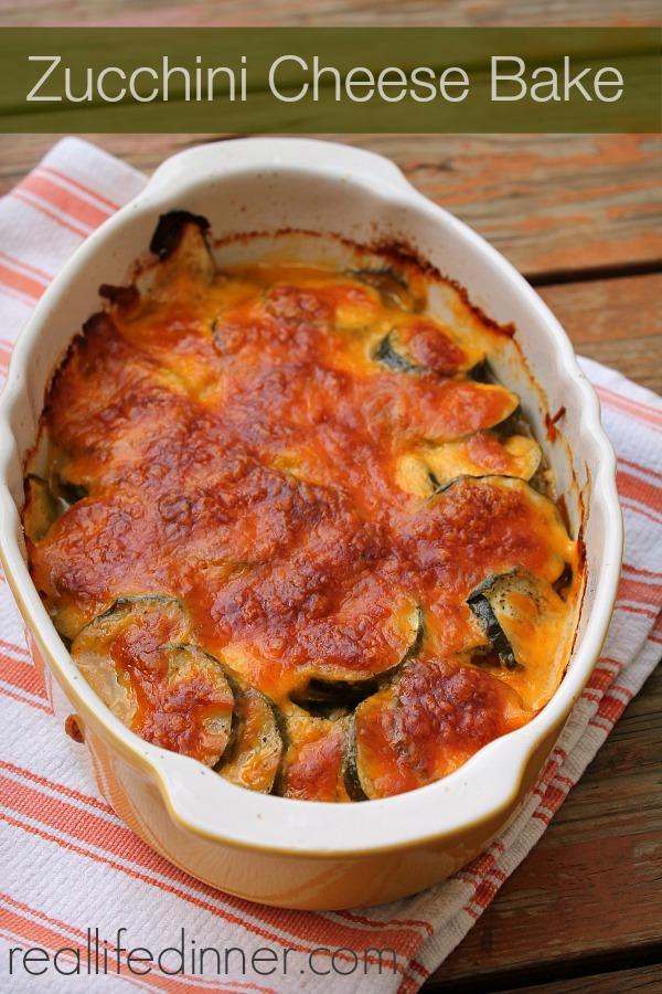 Zucchini Cheese Bake
