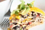 Tex-Mex Enchilada Stack