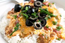 Slow Cooker Chili Chicken Casserole Recipe