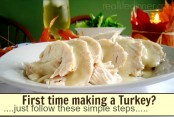 Super Simple steps for cooking an awesome turkey