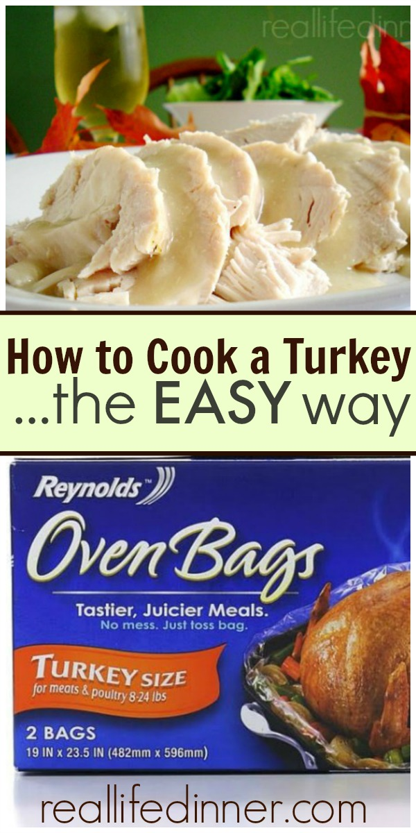 How to make a turkey the easy way