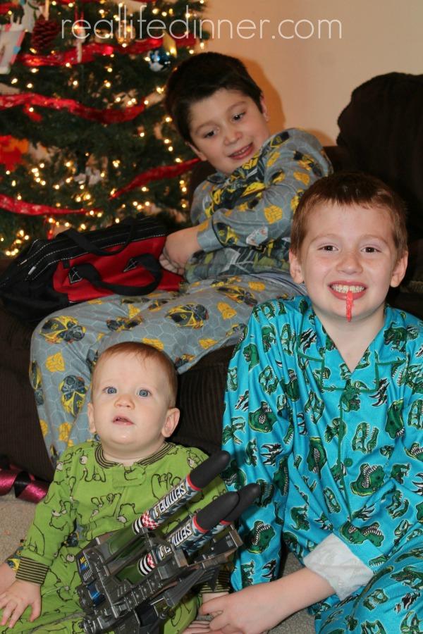 Boys on Christmas 14