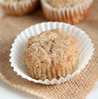 Toddler Muffins with Banana, Cream Cheese and Oatmeal