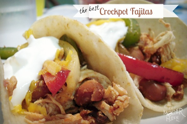 The Best Crock Pot Fajitas