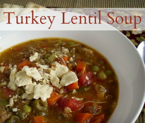 Turkey Lentil Soup