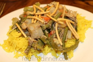 Chicken and Vegetable Curry