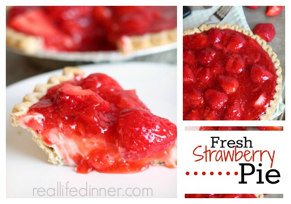 ... fresh strawberry pie recipe the tart and sweet strawberries paired