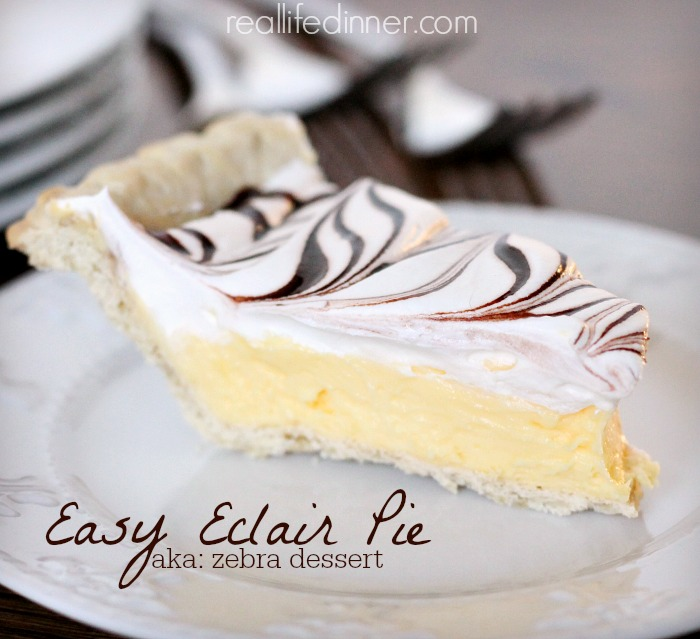 Easy-Eclair-pie-recipe-zebra-dessert-real-life-dinner