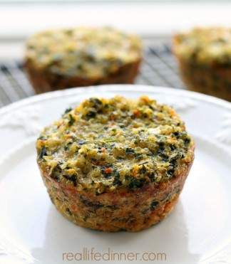 Quinoa and Kale Cups