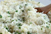 Oven Baked Cilantro Lime Rice Recipe, Throw it in the oven and forget about it!