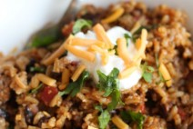 Skillet-Taco-Rice-Dinner