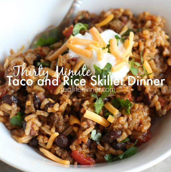 Taco-Rice-Skillet-Recipe--