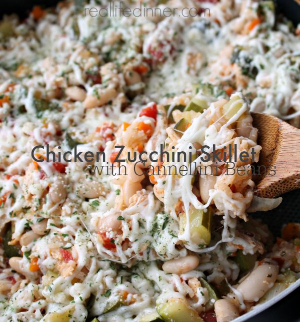 Chicken-Zucchini-Skillet-with-cannellini-beans