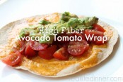 High-Fiber-Avacado-and-Tomato-Wrap-