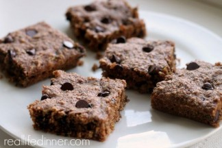 Zucchini Chocolate Chip Snack Cake