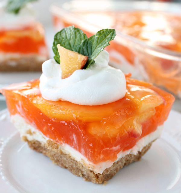 No-bake-fresh-peach-cheesecake-dessert-