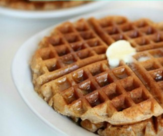 Homemade Whole Wheat Waffles