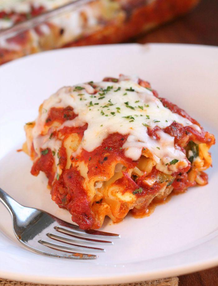 Sausage-and -zucchini-lasagna-roll-ups